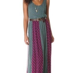 Ella Moss Maxi Dress Sun Tile